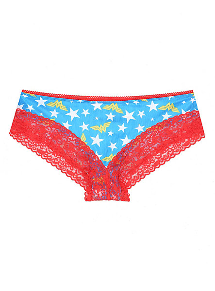 DC Comics Wonder Woman Lace Hot Pants | Hot Topic