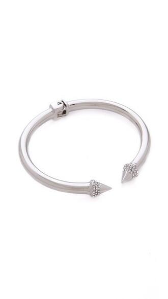 mini clear silver jewels