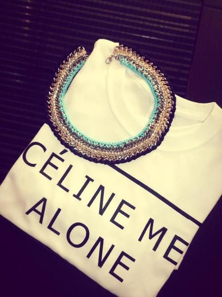 Celine Me Alone T-Shirt – Glamzelle