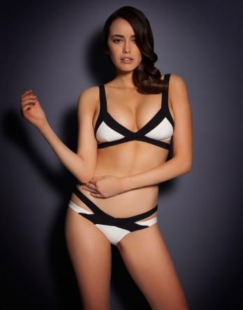 View All Swimwear by Agent Provocateur - Mazzy Bikini Bra