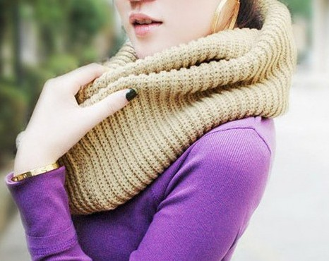 Cozy infinity knit scarf · nouveau craze · online store powered by storenvy
