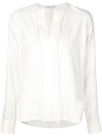 blouse tunic white top