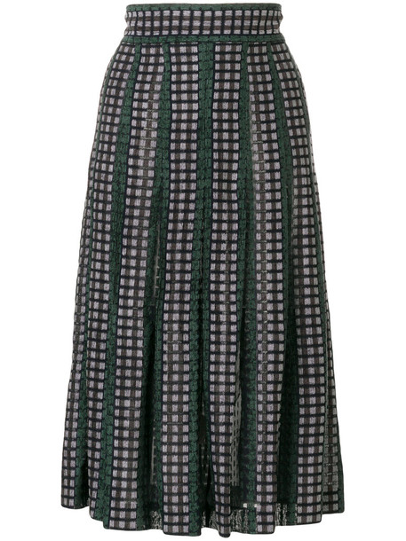 skirt women green