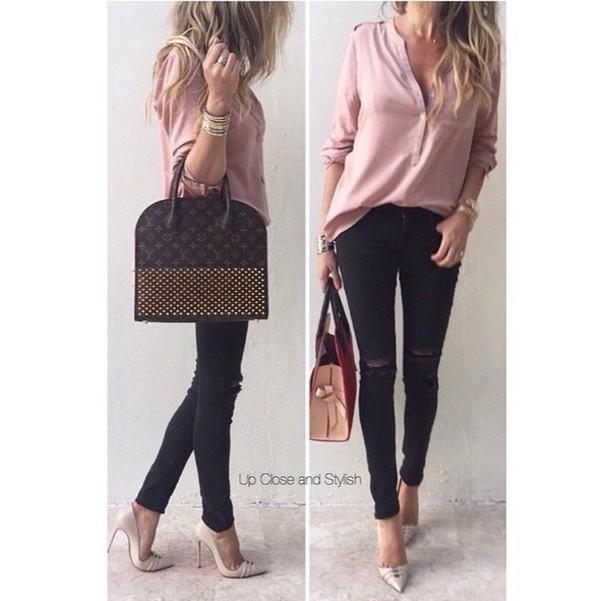 bag brown bag louis vuitton bag lv fashion stylish love shoes top shirt
