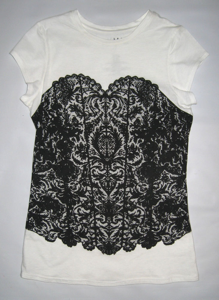 New Junior Girls Miley Cyrus Call Me T Shirt Top Tee Clothing by Max Azria | eBay