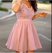 rouge,dress,knitted dress,beautiful,girly,pink,fashion,lovely