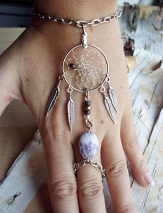jewels hand dreamcatcher