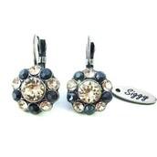 jewels,siggy jewelry,swarovski,earrings,daisy,flowers,bling,trendy,gift ideas,fall jewelry,fashion,style,victorian,bargain,chic,sparkle