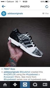 shoes,adidas,adidas originals,black and white