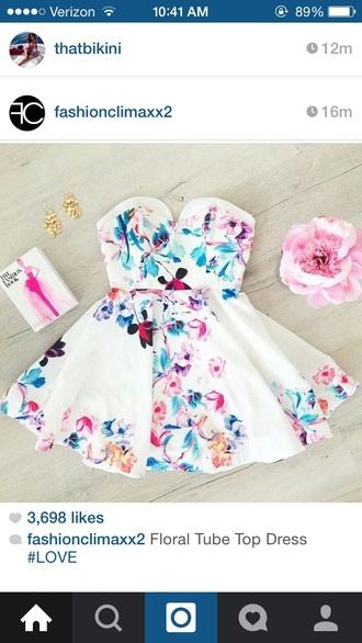 dress floral dress halter dress