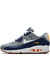 Nike x liberty dark blue crown liberty print air max 90 trainers