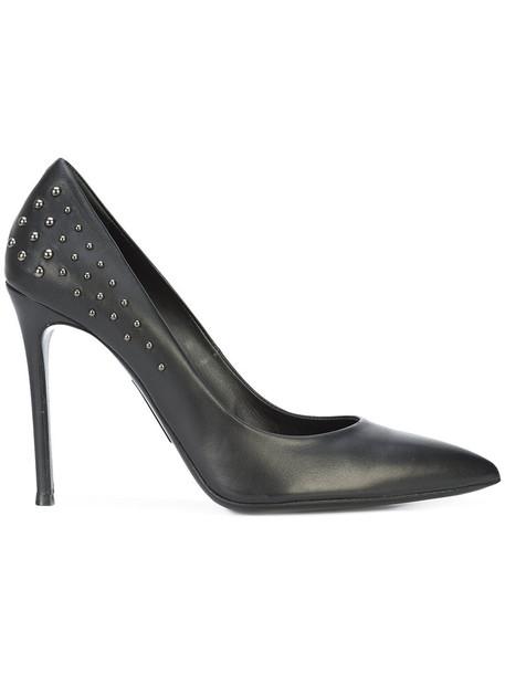 Thomas Wylde women pumps leather black shoes