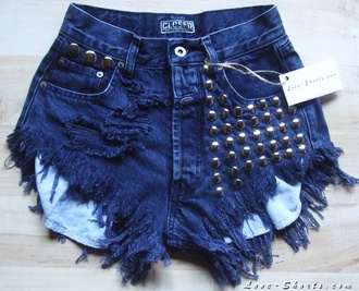 shorts levi jeans summer vintage studded shorts girly
