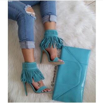 bag turquoise