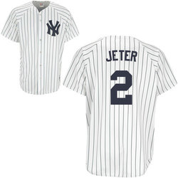 Yankees Replica Derek Jeter Youth Home Jersey