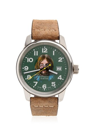 watch green grey jewels