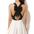 New Party Dress Women Sexy Criss Cross Back Hollow Bowknot Pleated Chiffon Dress | eBay