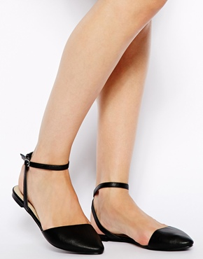 ASOS | ASOS LADYBUG Pointed Ballet Flats at ASOS