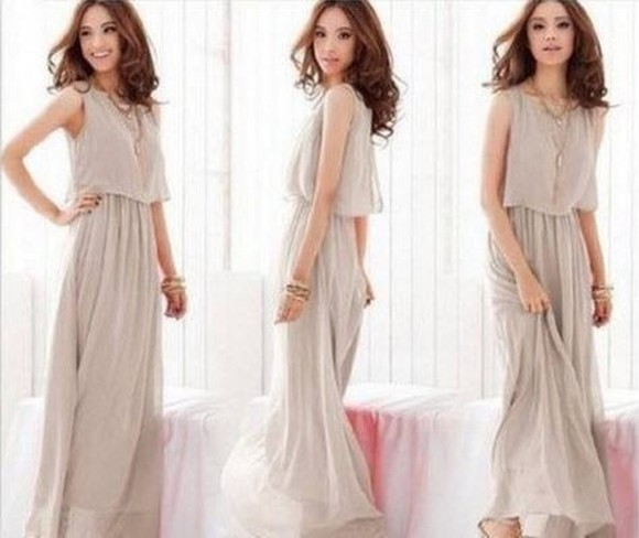 dress grey dress flannel plain dress long dress beautiful sleeveless stylish