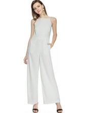 jumpsuit,wide leg jumpsuit,grid print jumpsuit,keepsake jumpsuit,bare back jumpsuit,clubwear,pixie market,pixie market girl