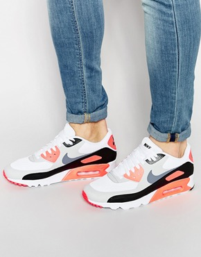 Nike Air Max 90 Ultra Essential Trainers 819474 106 at