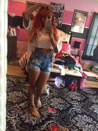 zonnique pullins high waisted shorts crop tops shorts shoes home accessory top