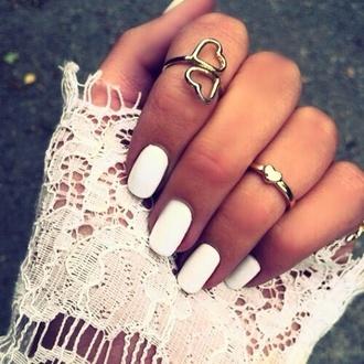 jewels ring heart gold ring fashion classy beautiful jewelry