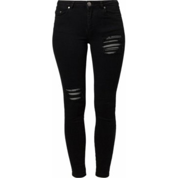 jeans black clothes