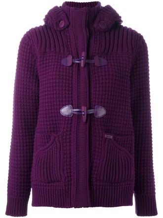 jacket fur women wool purple pink