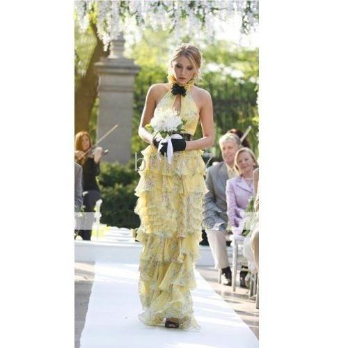 Season 1 fsh0050 serena sheath halter floor length evening/bridesmaid/gossip girl fashion dress