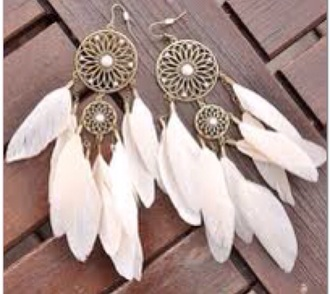earphones dreamcatcher earrings