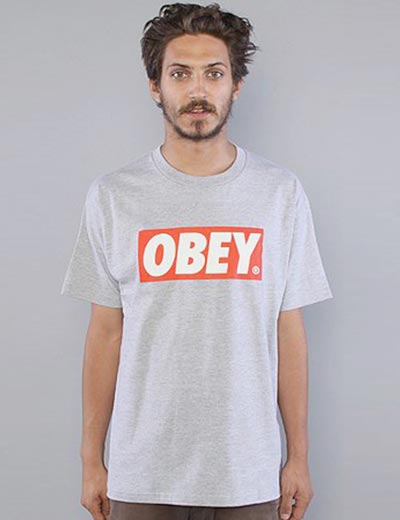 Obey bar logo t