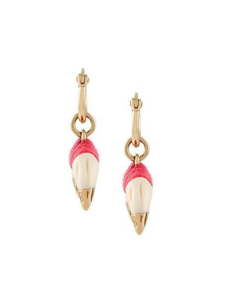 women earrings gold nude jewels