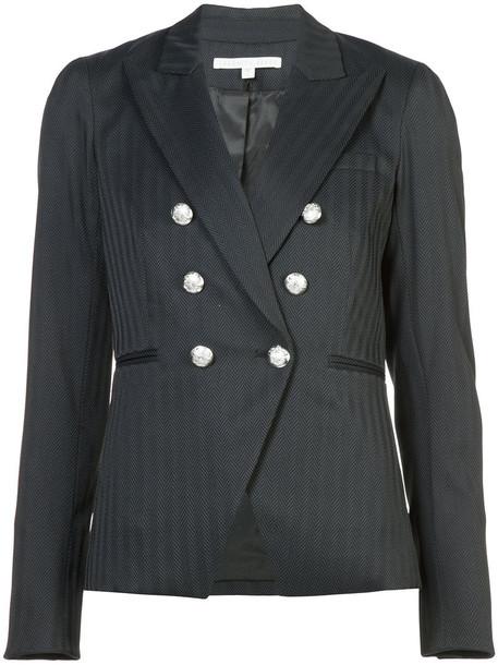 Veronica Beard jacket women spandex blue