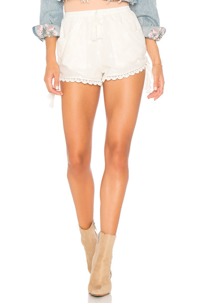 Spell & The Gypsy Collective shorts white