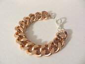 jewels,rose gold bracelet,rose gold,rose gold jewelry,etsy,trendy,chain jewelry,fashion jewelry