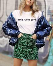 skirt,green skirt