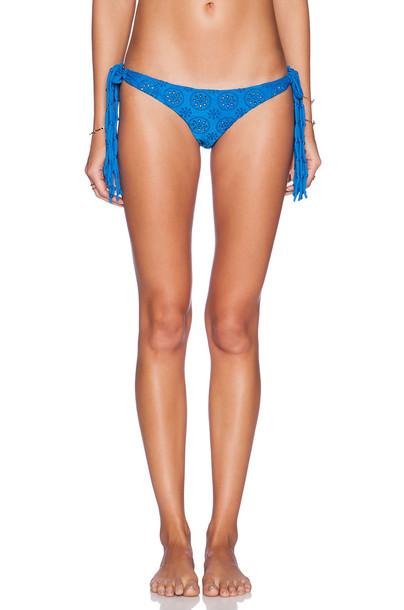 Amuse Society bikini cheeky bikini cheeky blue