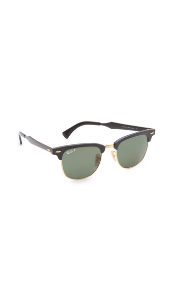 Ban oversized two tone clubmaster sunglasses