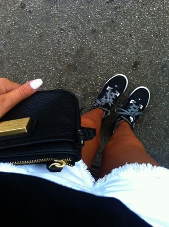 shoes sneakers sneaks black white street nike adidas air jordan