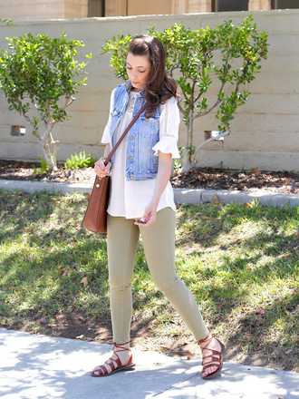 cost with me blogger jacket top jeans shoes bag