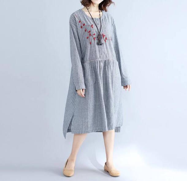 dress dark gray dress maxi dress