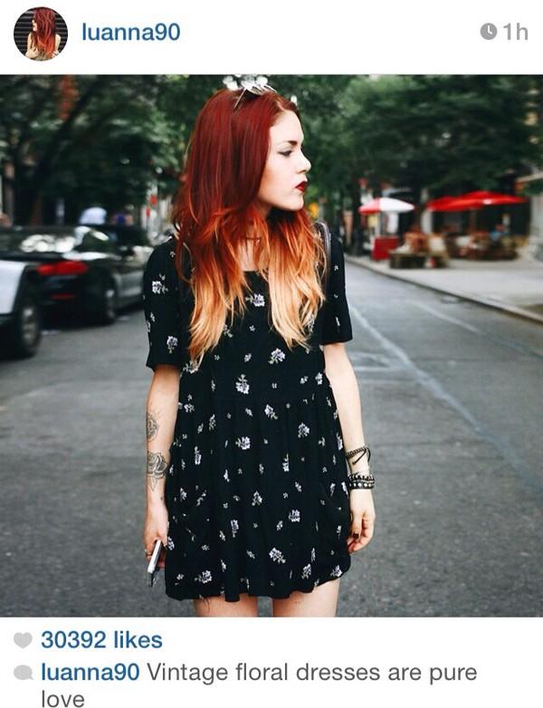 dress vintage black dress