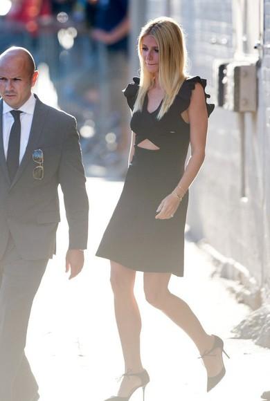 gwyneth paltrow dress little black dress