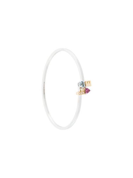 Delfina Delettrez women love gold white jewels