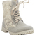 Crochet Canvas Combat Boots | Wet Seal