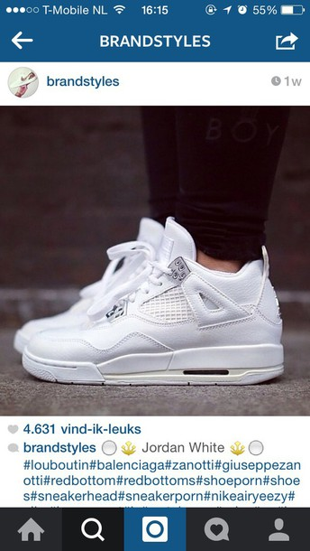 shoes jordan white sneakers love stye