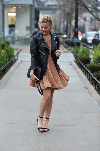 fashionably lo blogger shoes dress jacket bag