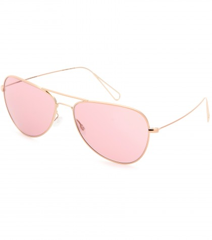 mytheresa.com -  Matt teardrop-frame sunglasses par Oliver Peoples  - sunglasses - accessories - Luxury Fashion for Women / Designer clothing, shoes, bags