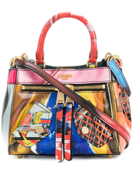 Moschino women leather bag